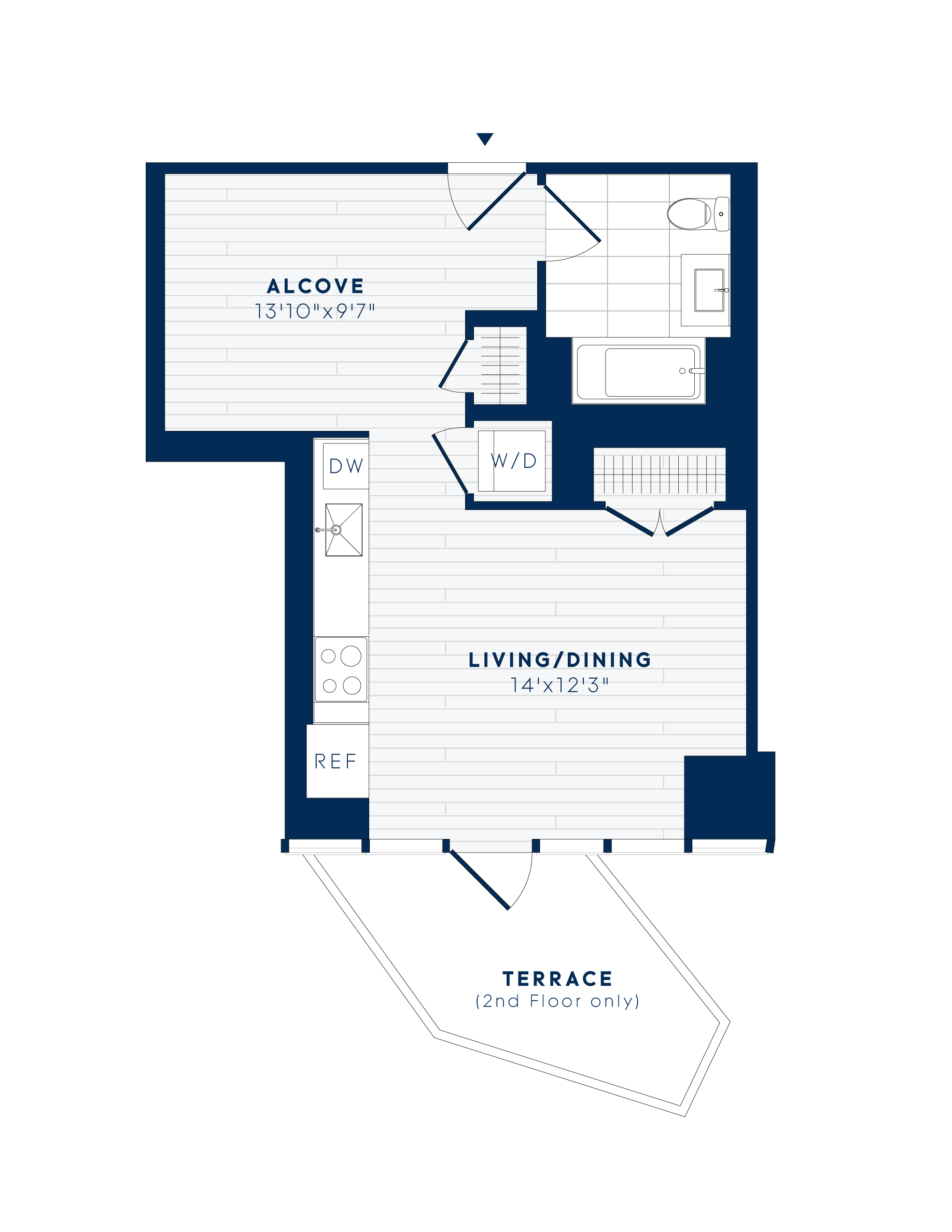 floor plan image of apartment 615