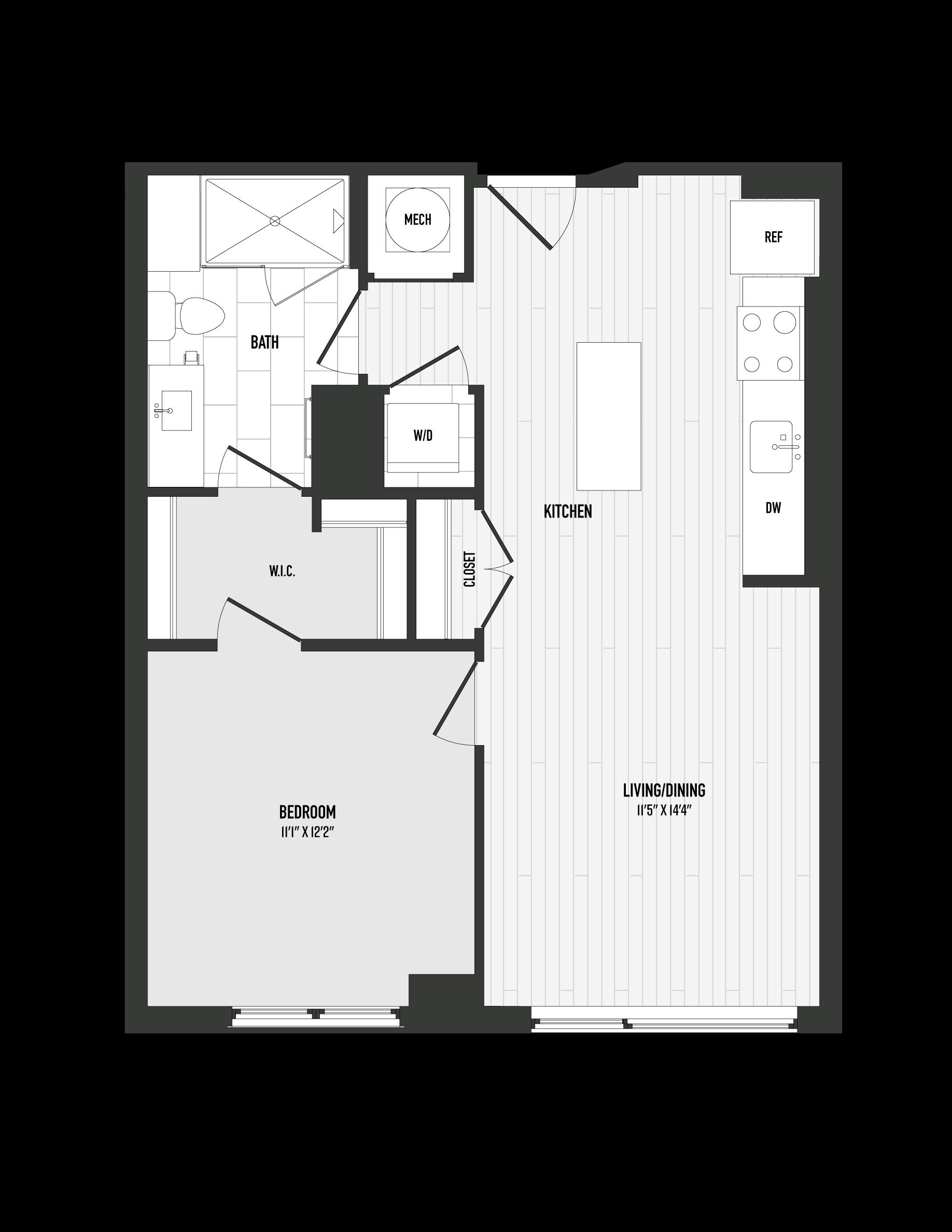 APT. 302 floor plan thumb