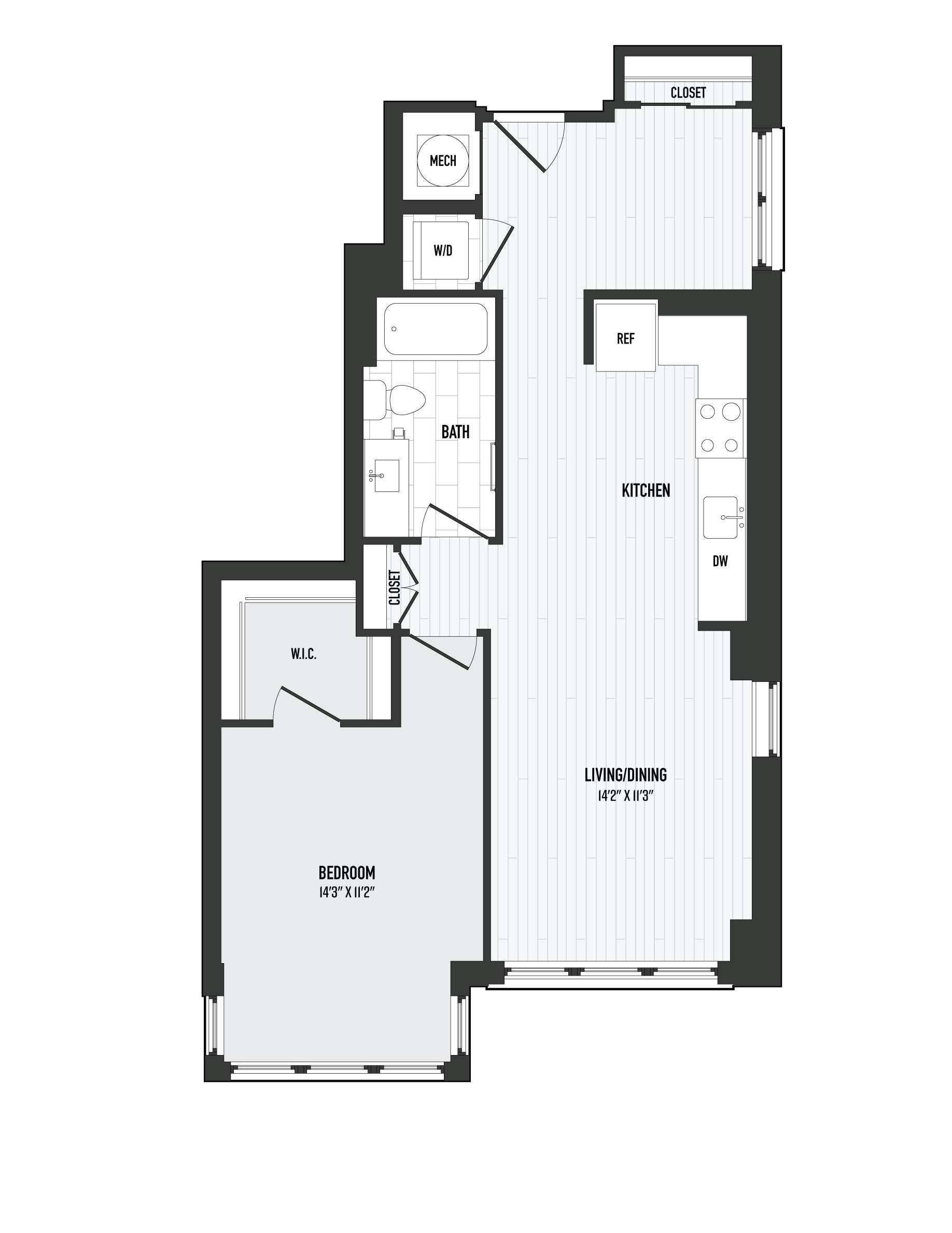 APT. 228 floor plan thumb