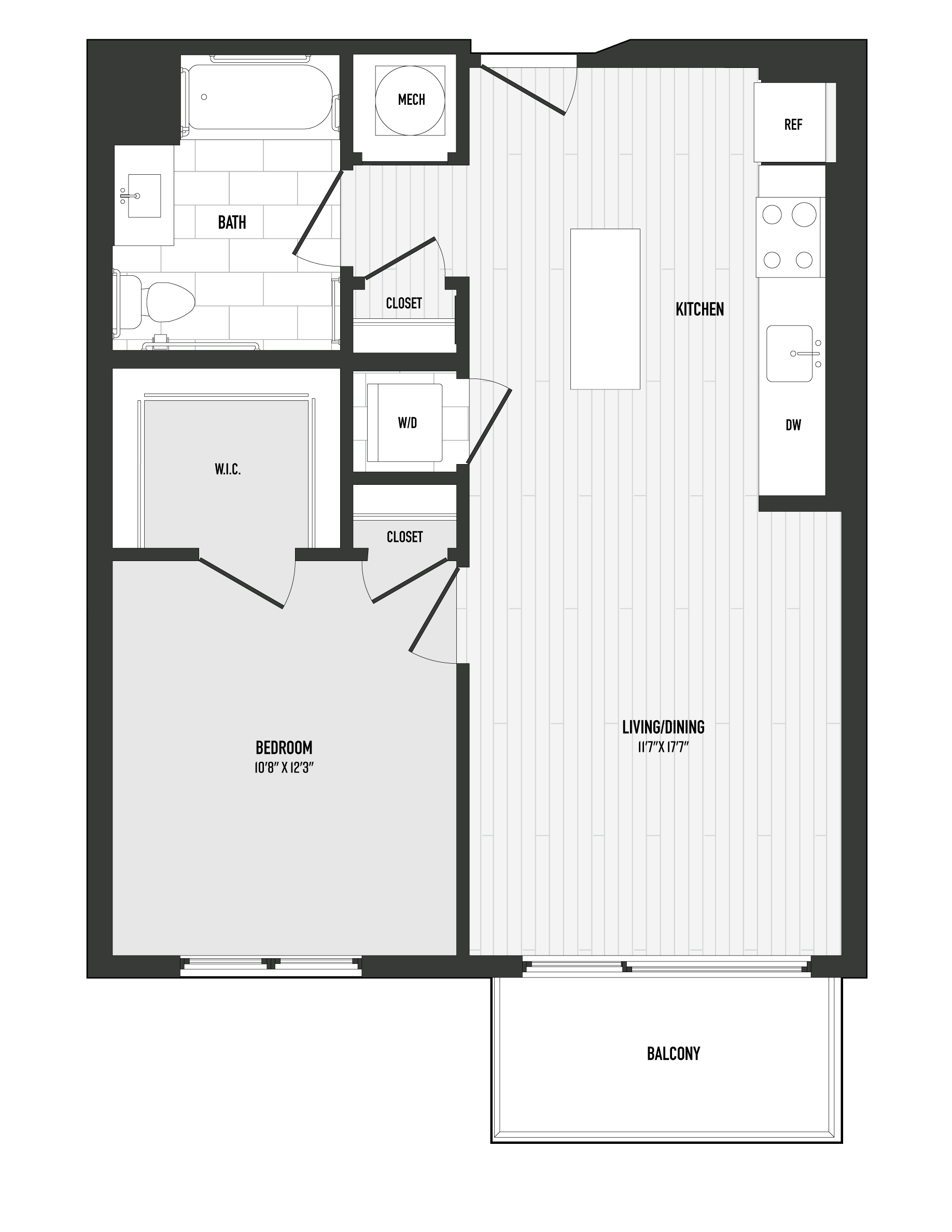 APT. 605 floor plan thumb