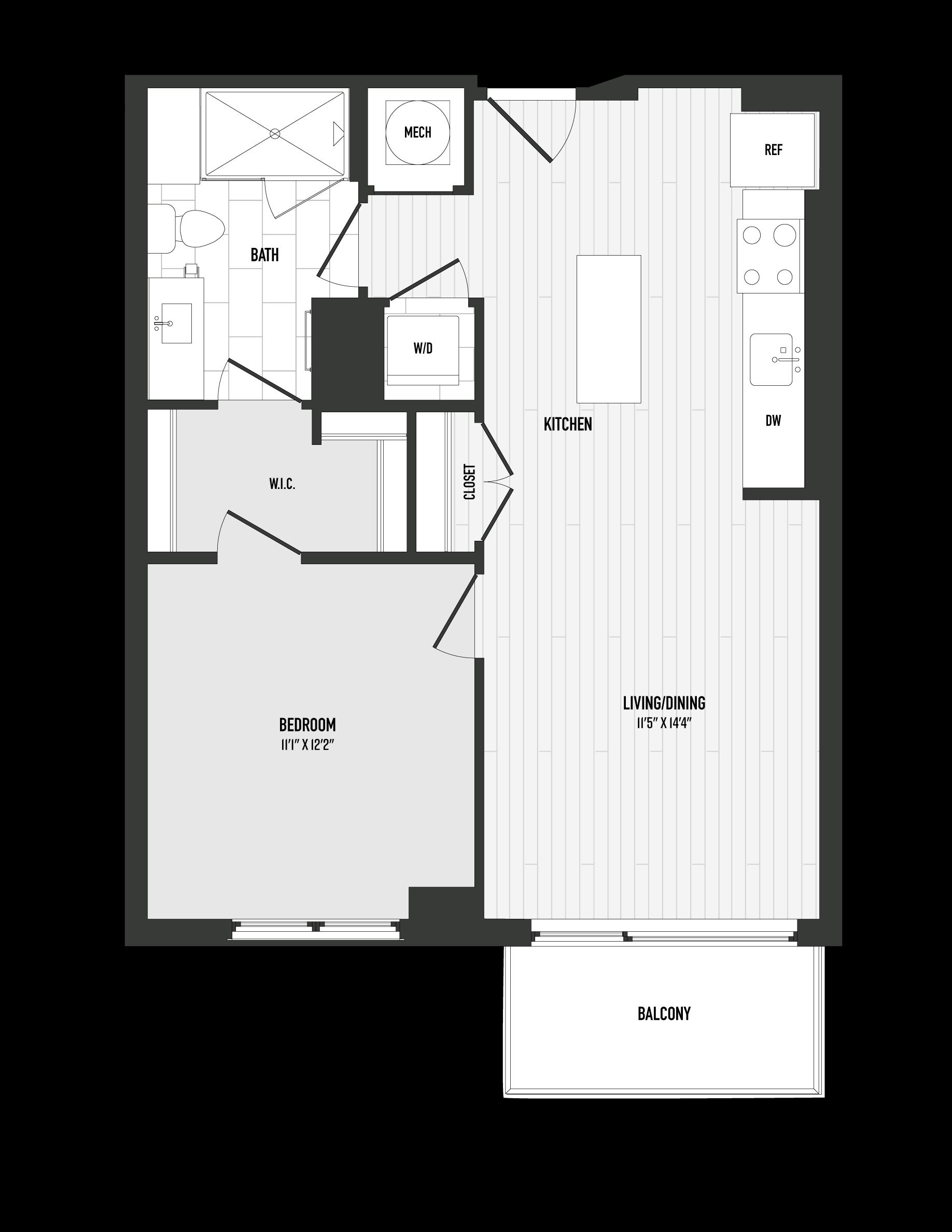 APT. 505 floor plan thumb