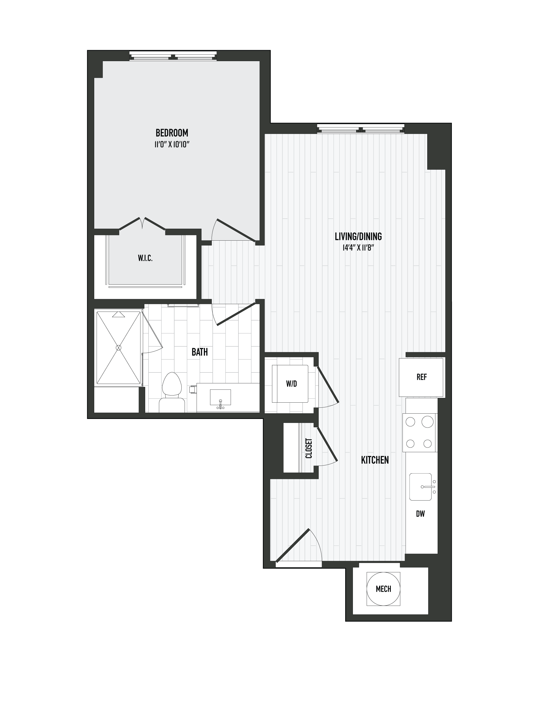 APT. 227 floor plan thumb