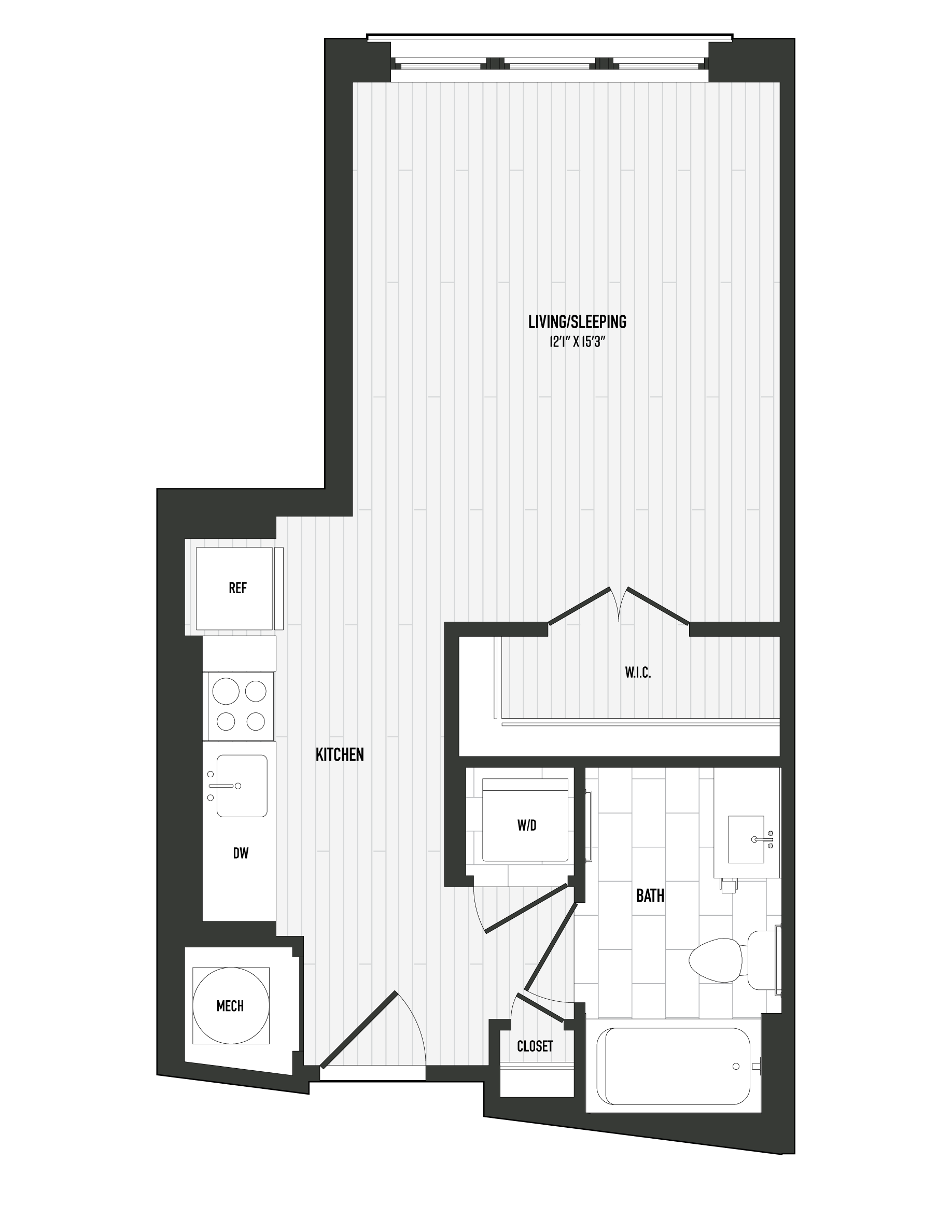 APT. 204 floor plan thumb