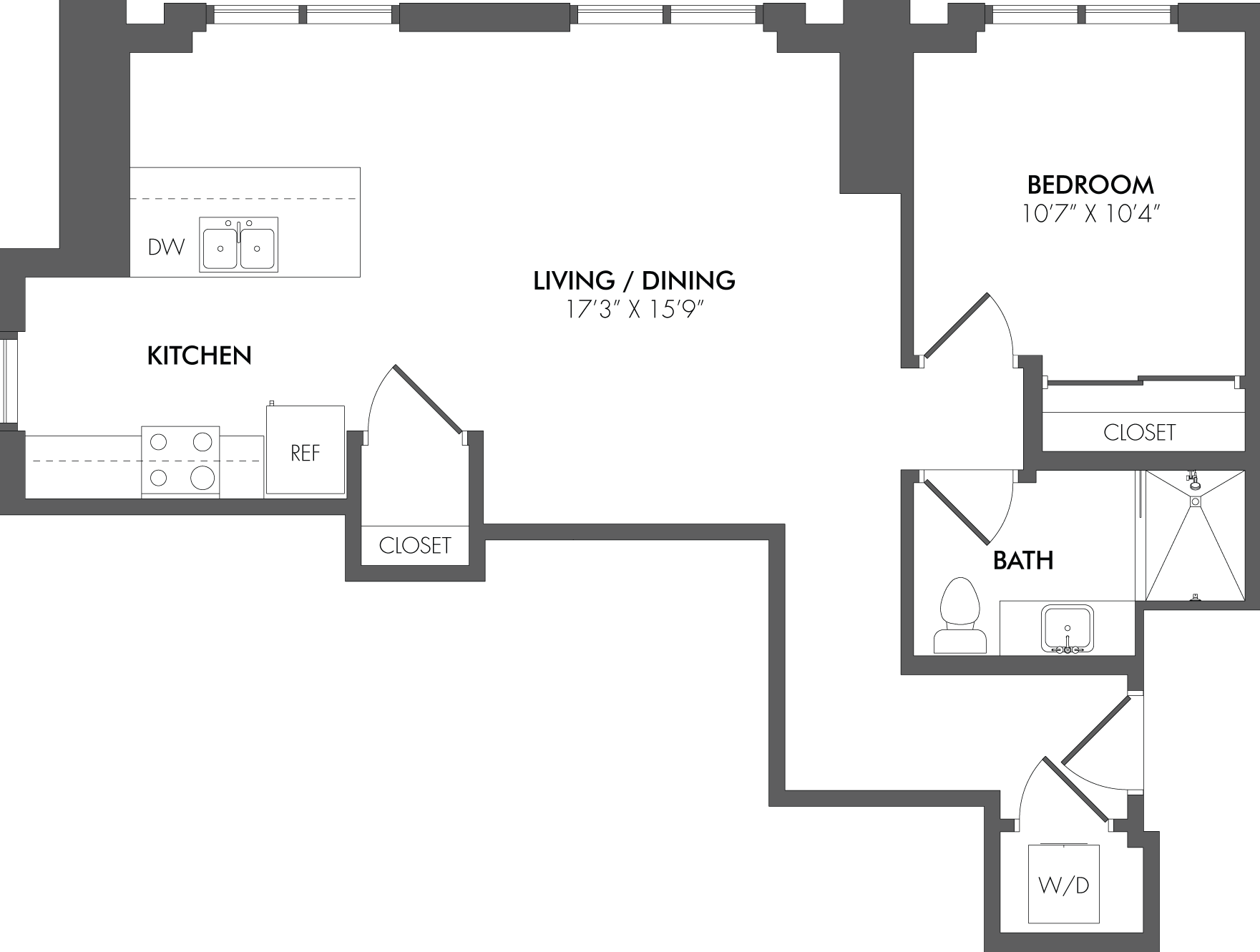 Apartment 2013 floorplan
