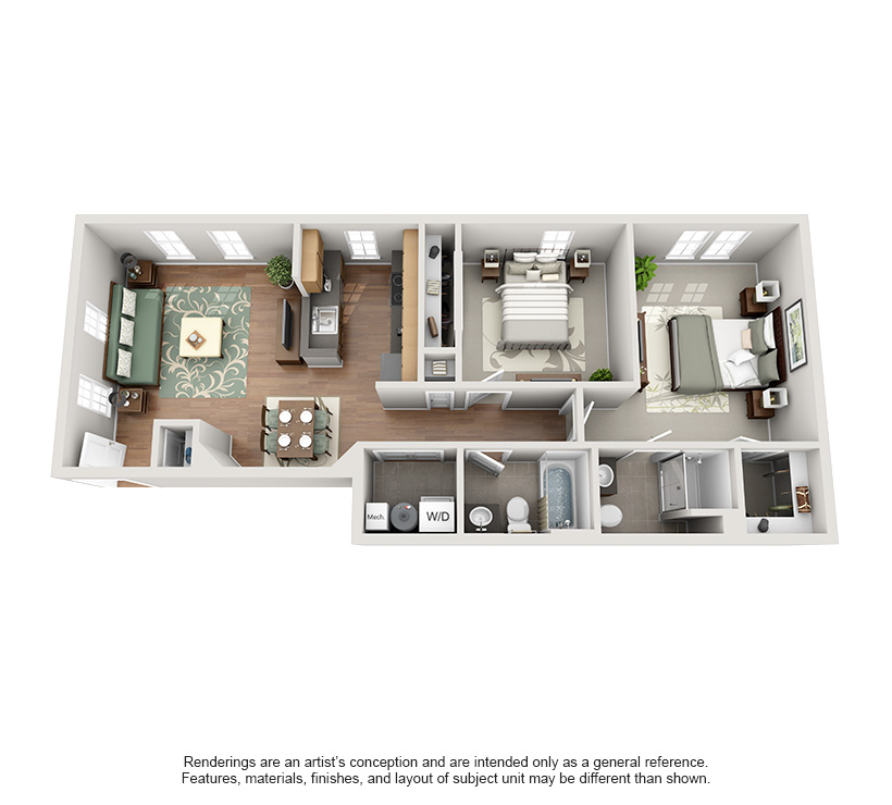 One And Two Bedroom Apartments In Frankfort Ky