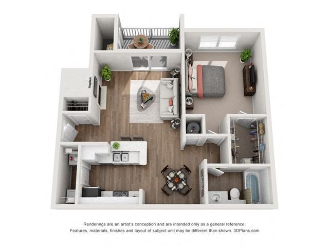 Floor Plans The Briarcliff Apartments Atlanta Georgia