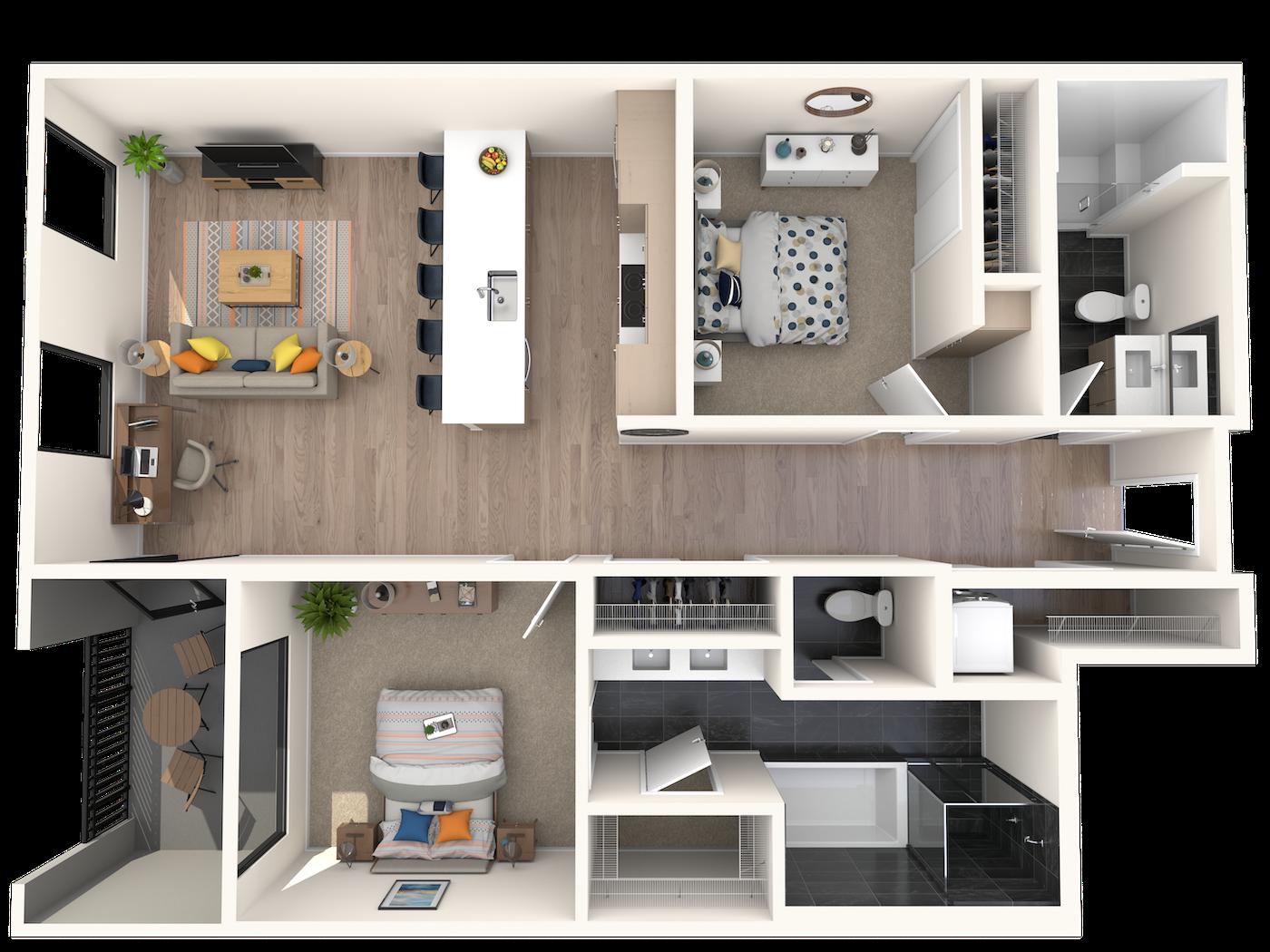 A2.2 Floor Plan