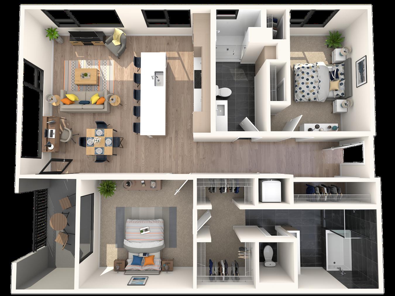 A2.1 Floor Plan