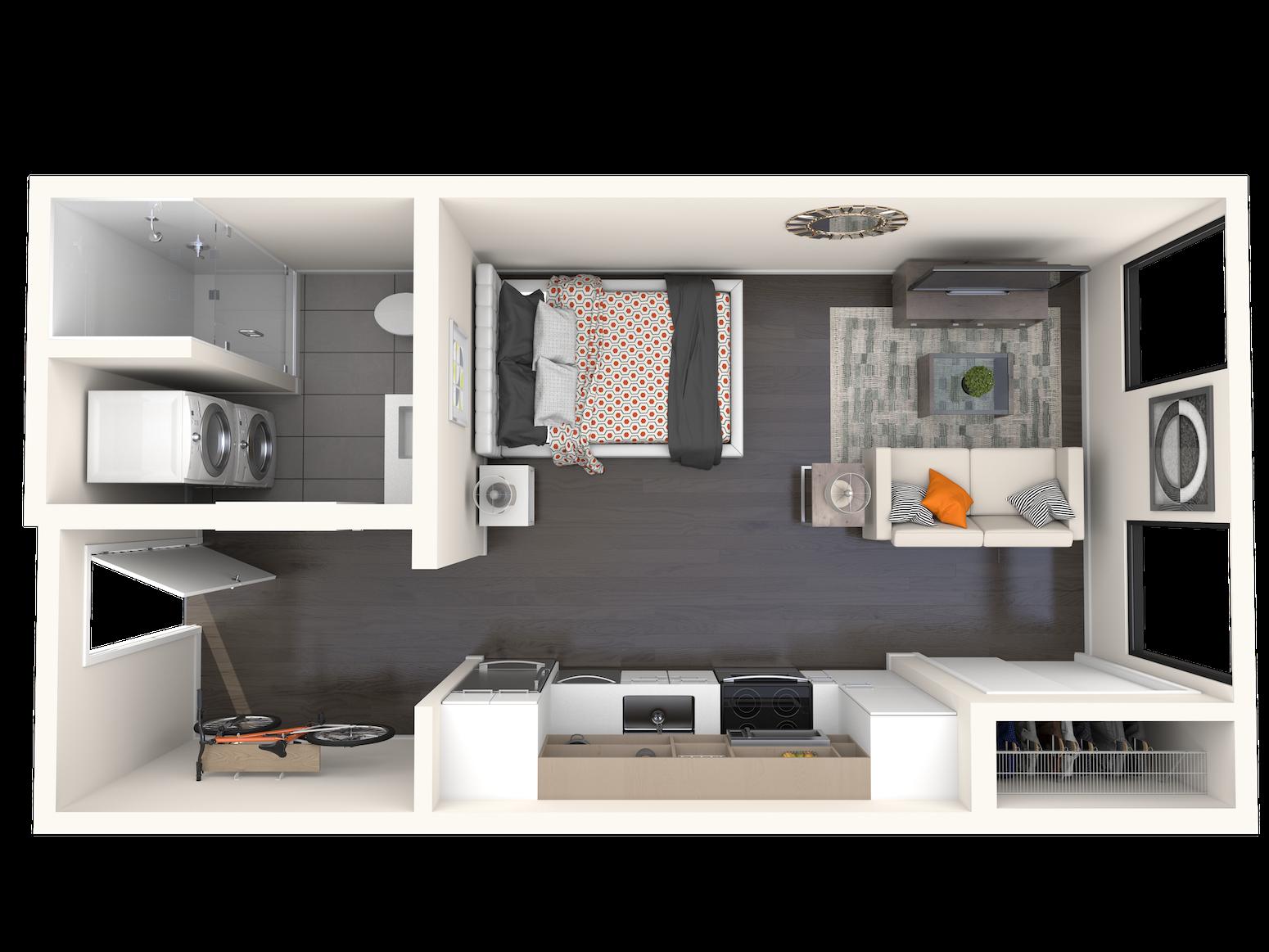 B0.4a Floor Plan