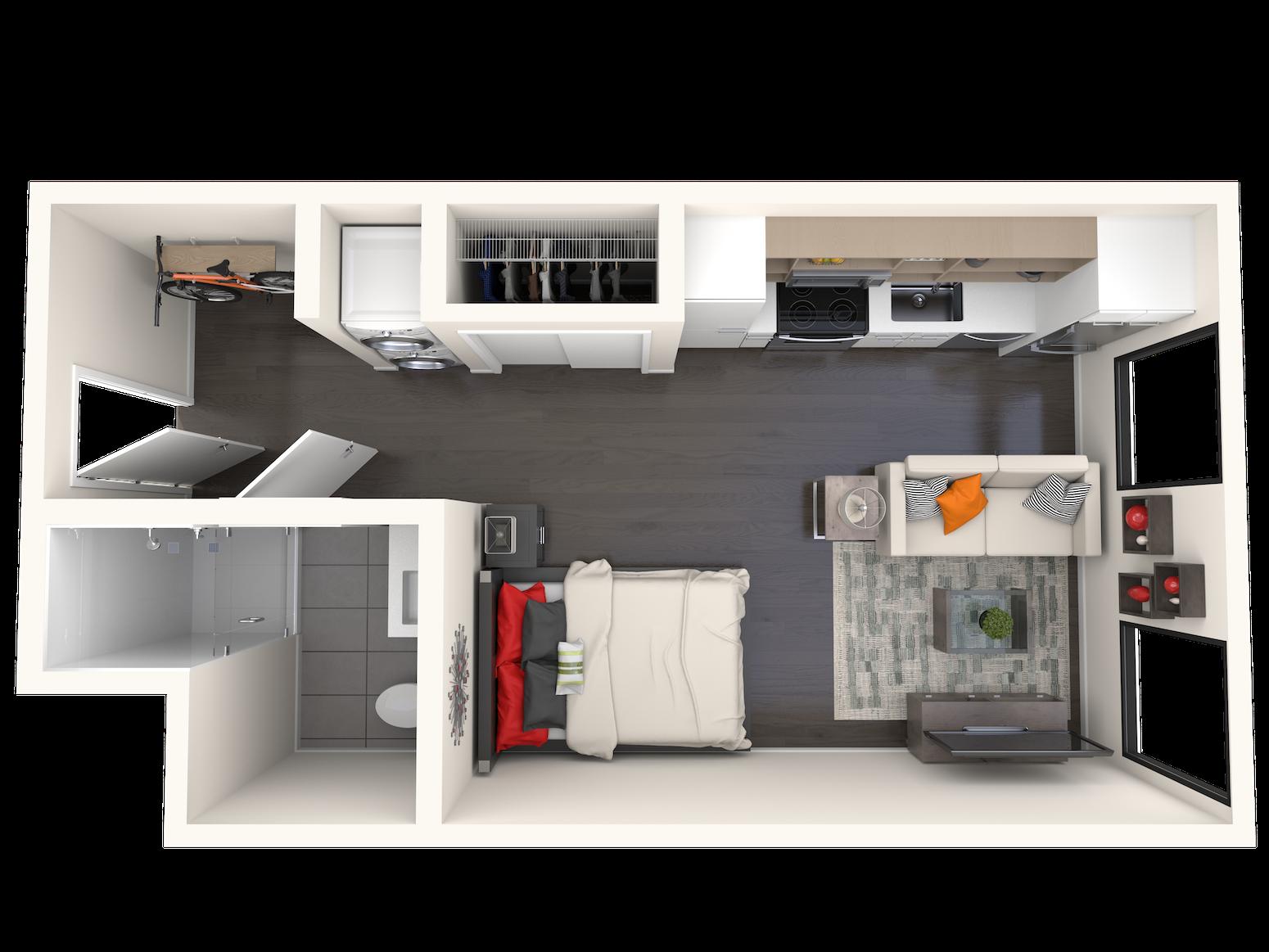 B0.4c Floor Plan