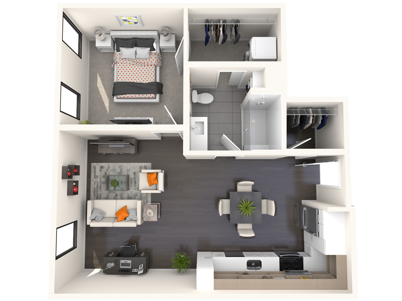 B1.6 Floor Plan