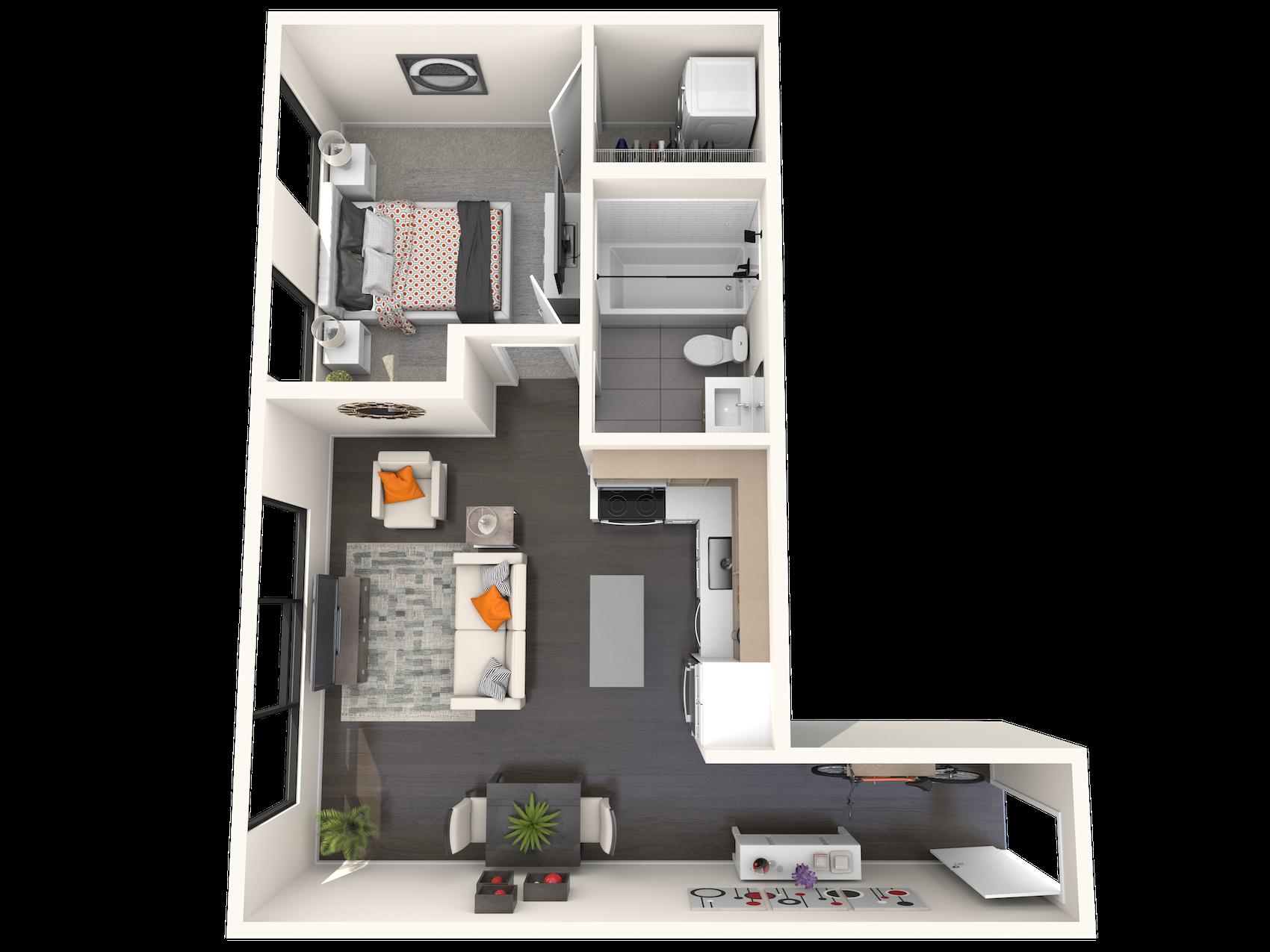 B1.7 Floor Plan