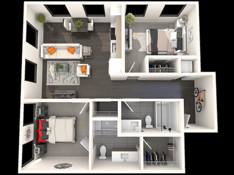 B2.1 Floor Plan