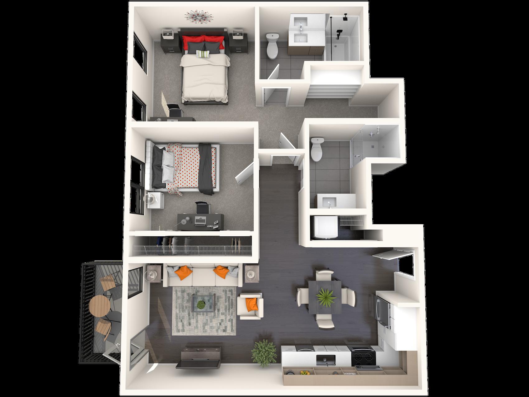 B2.3 Floor Plan