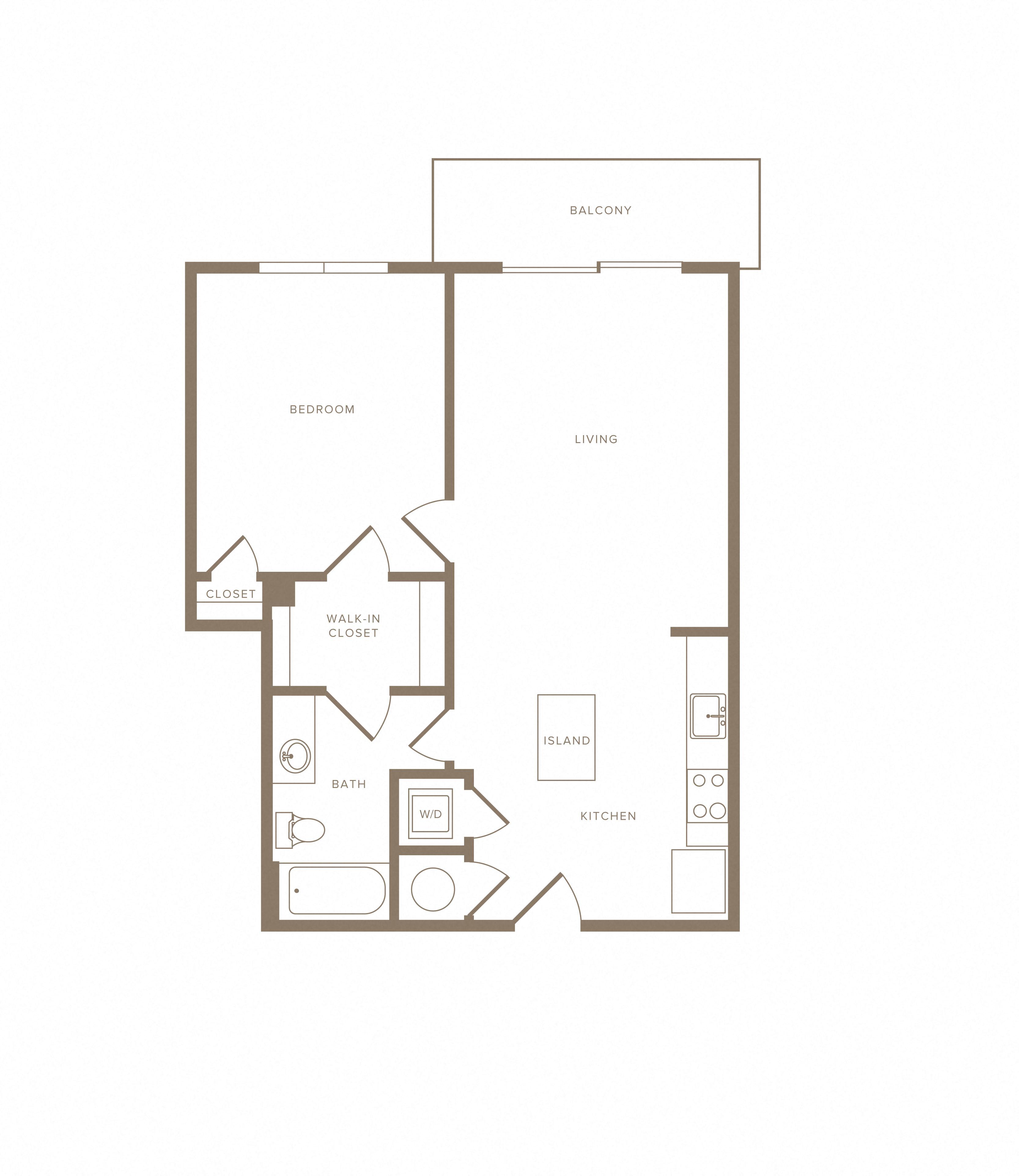 Apartment C-304 floorplan