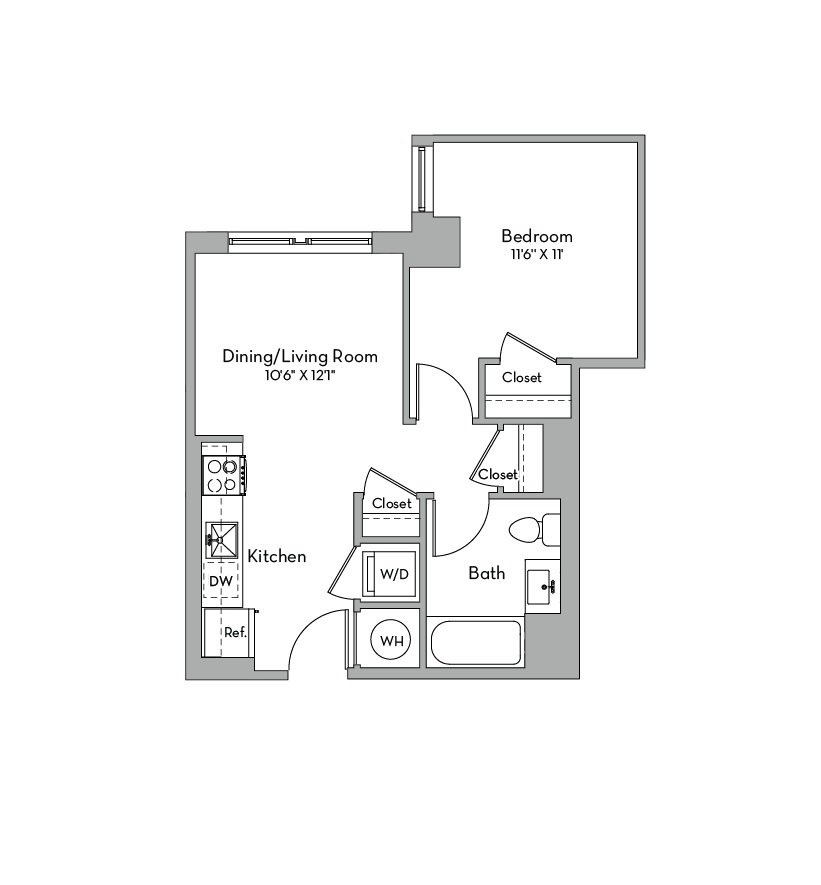 Apartment 0543 floorplan