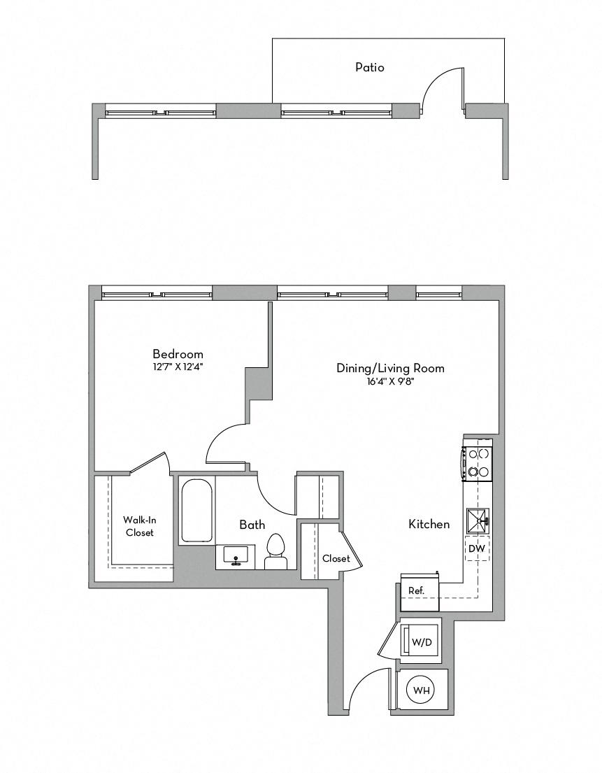 Apartment 0355 floorplan