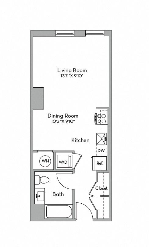 Apartment 0629 floorplan
