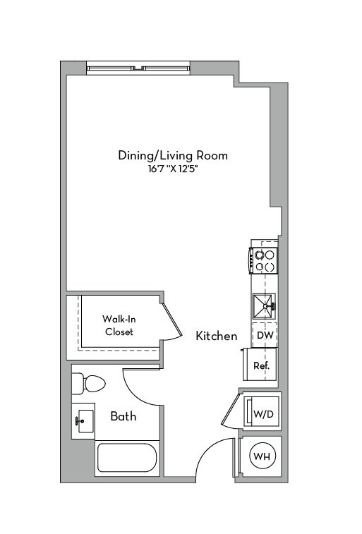 Apartment 0648 floorplan