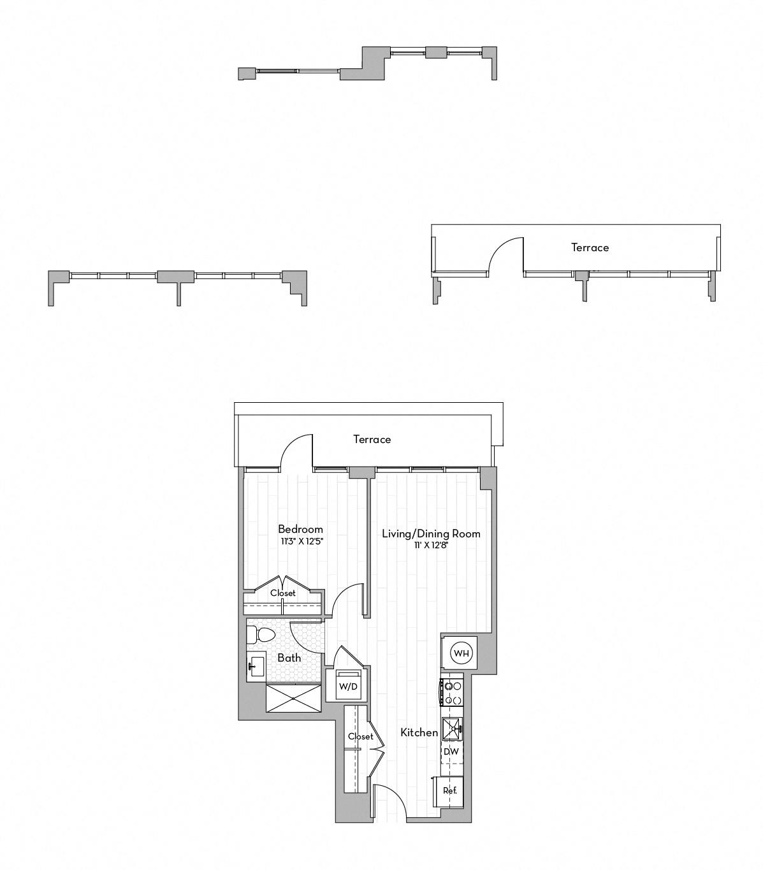 Apartment 0731 floorplan