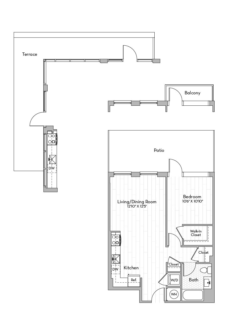 Apartment 0250 floorplan