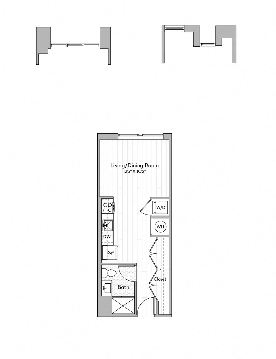 Apartment 0547 floorplan
