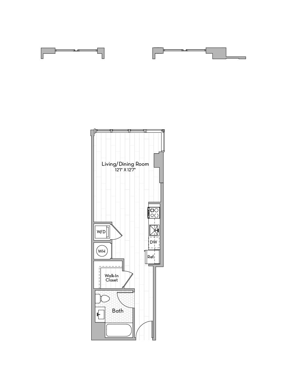 Apartment 0614 floorplan