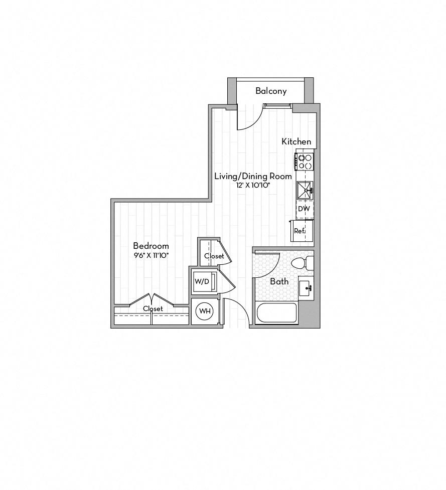 Apartment 0252 floorplan