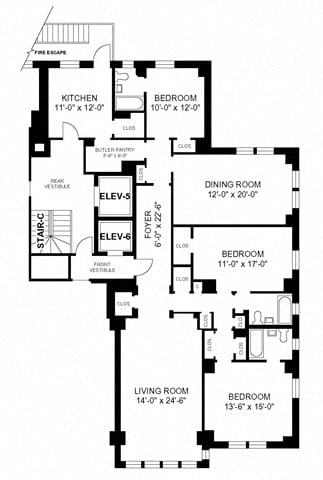 3BR/3BA - Style F