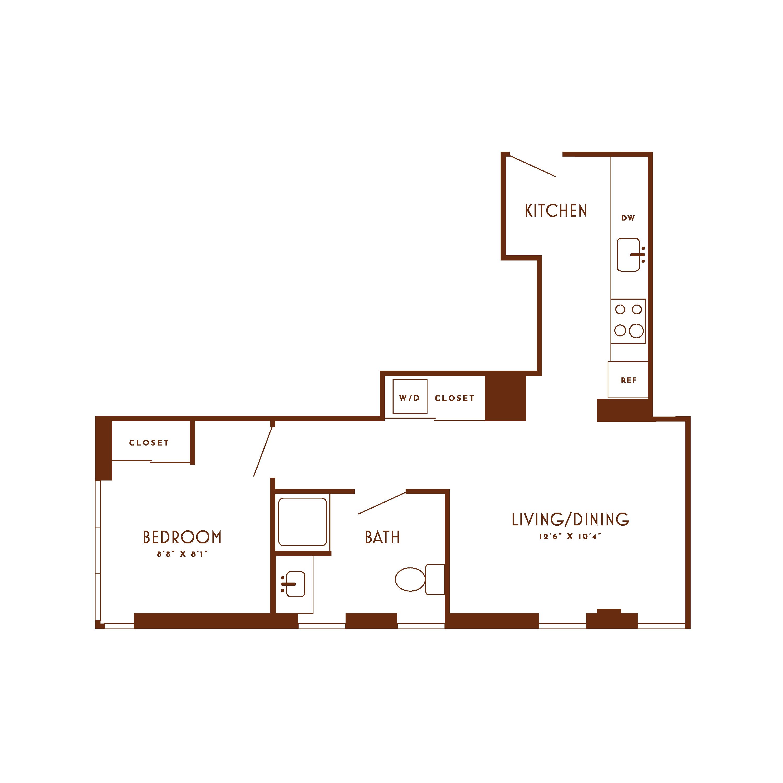 Floor plan image 612