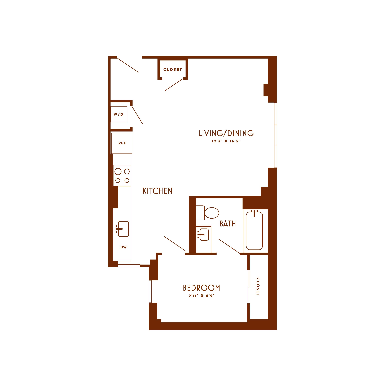 Floor plan image of unit T20