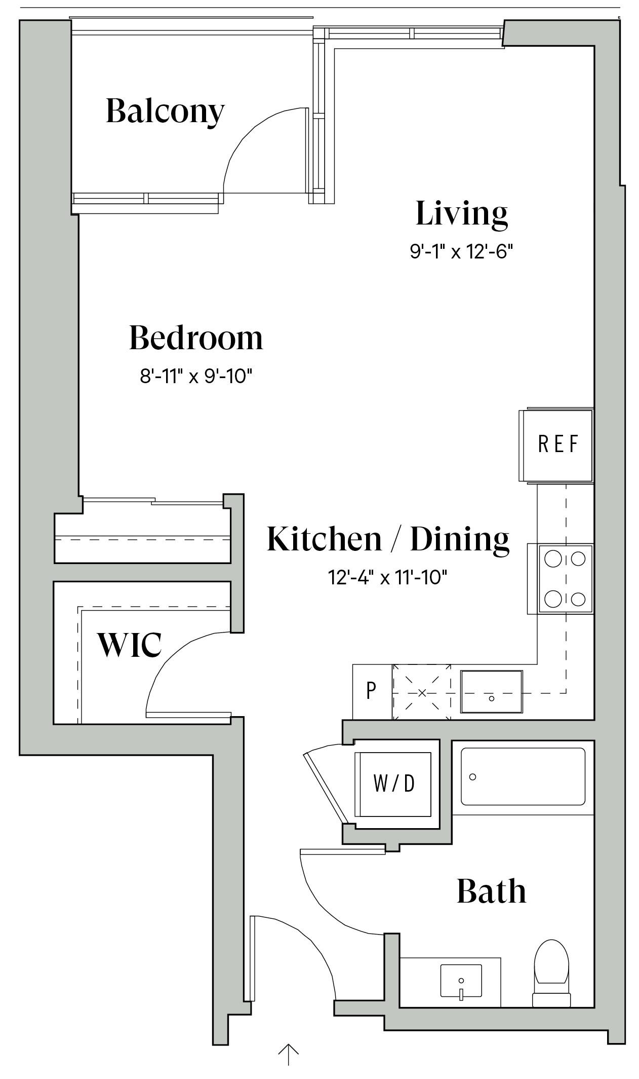 Diega A3 Floorplan