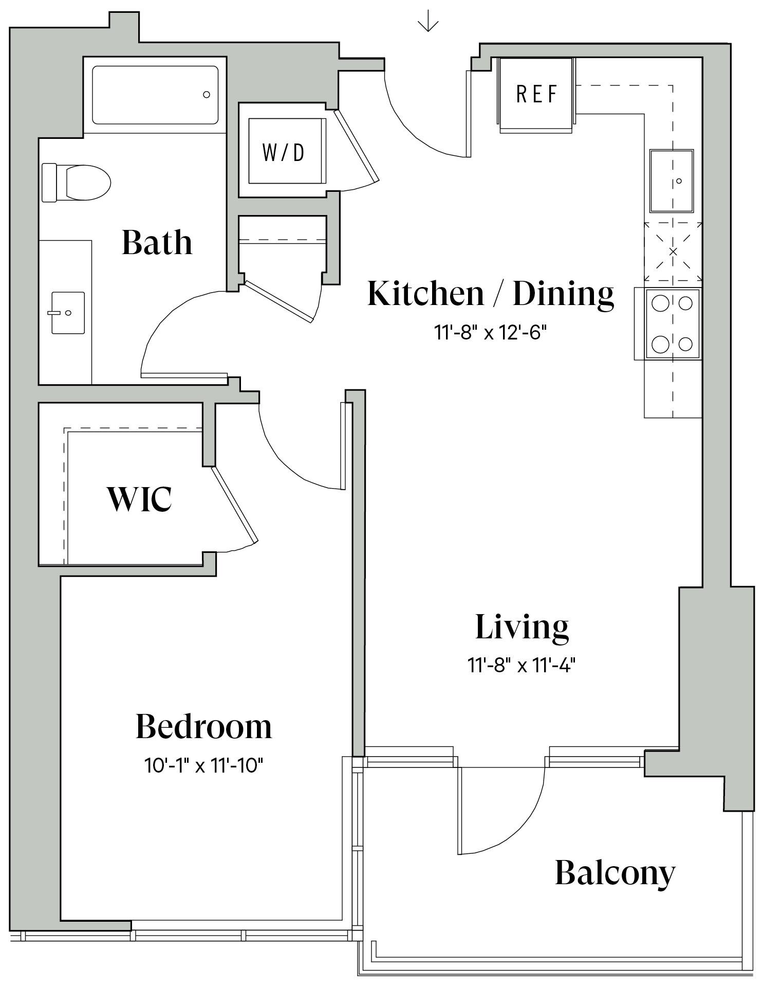 Diega B1d Floorplan