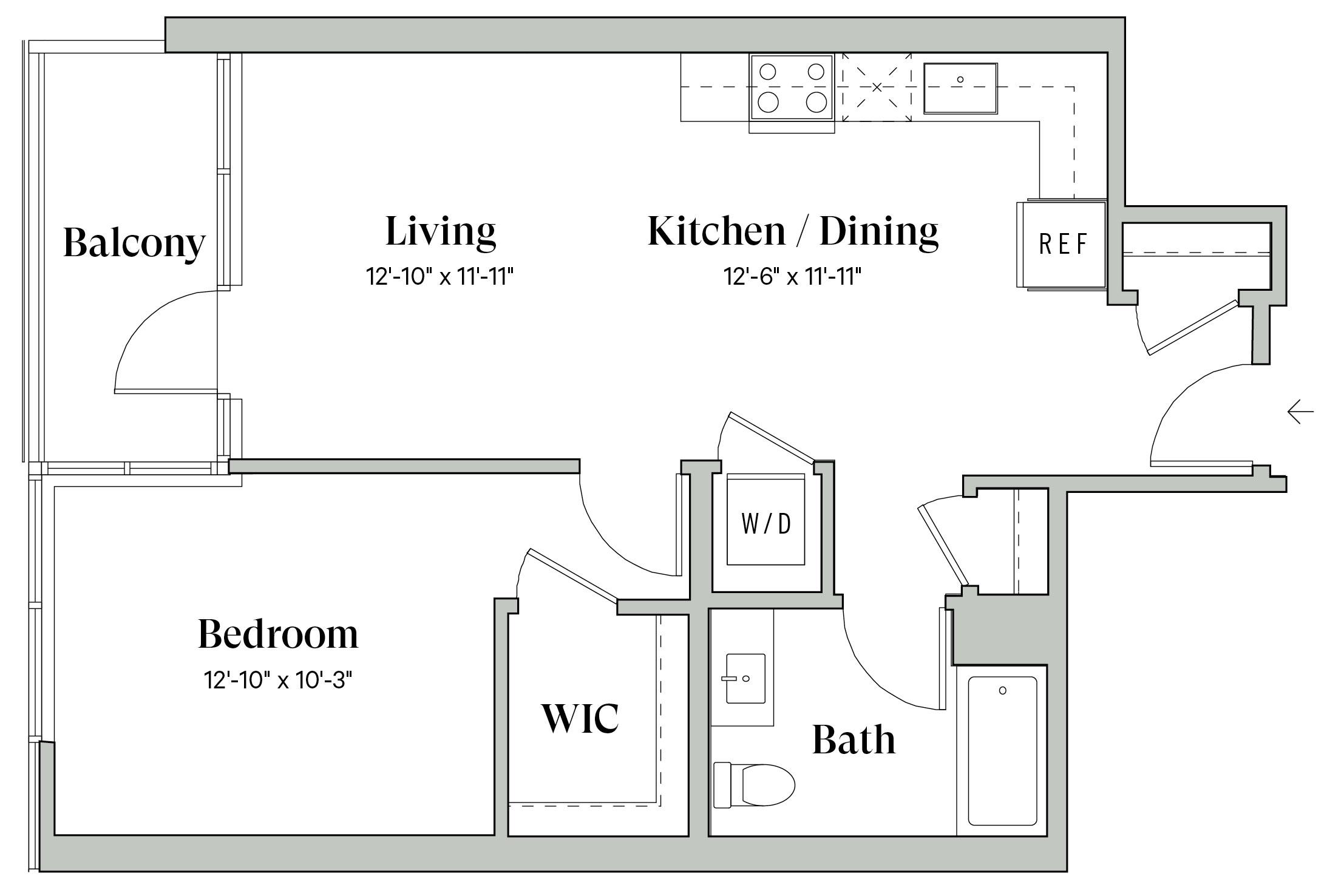 Diega B7 Floorplan
