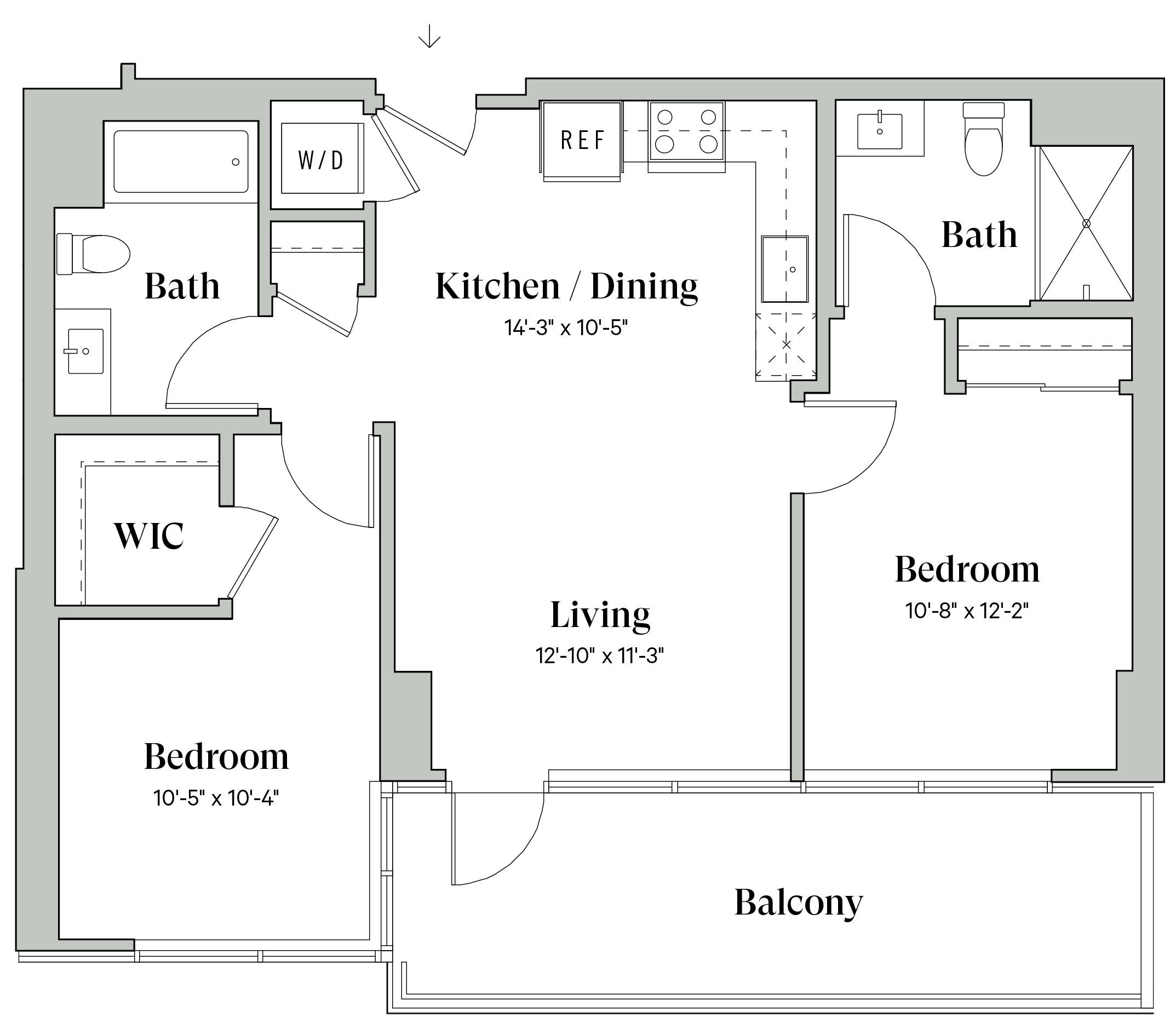 Diega D20 Floorplan