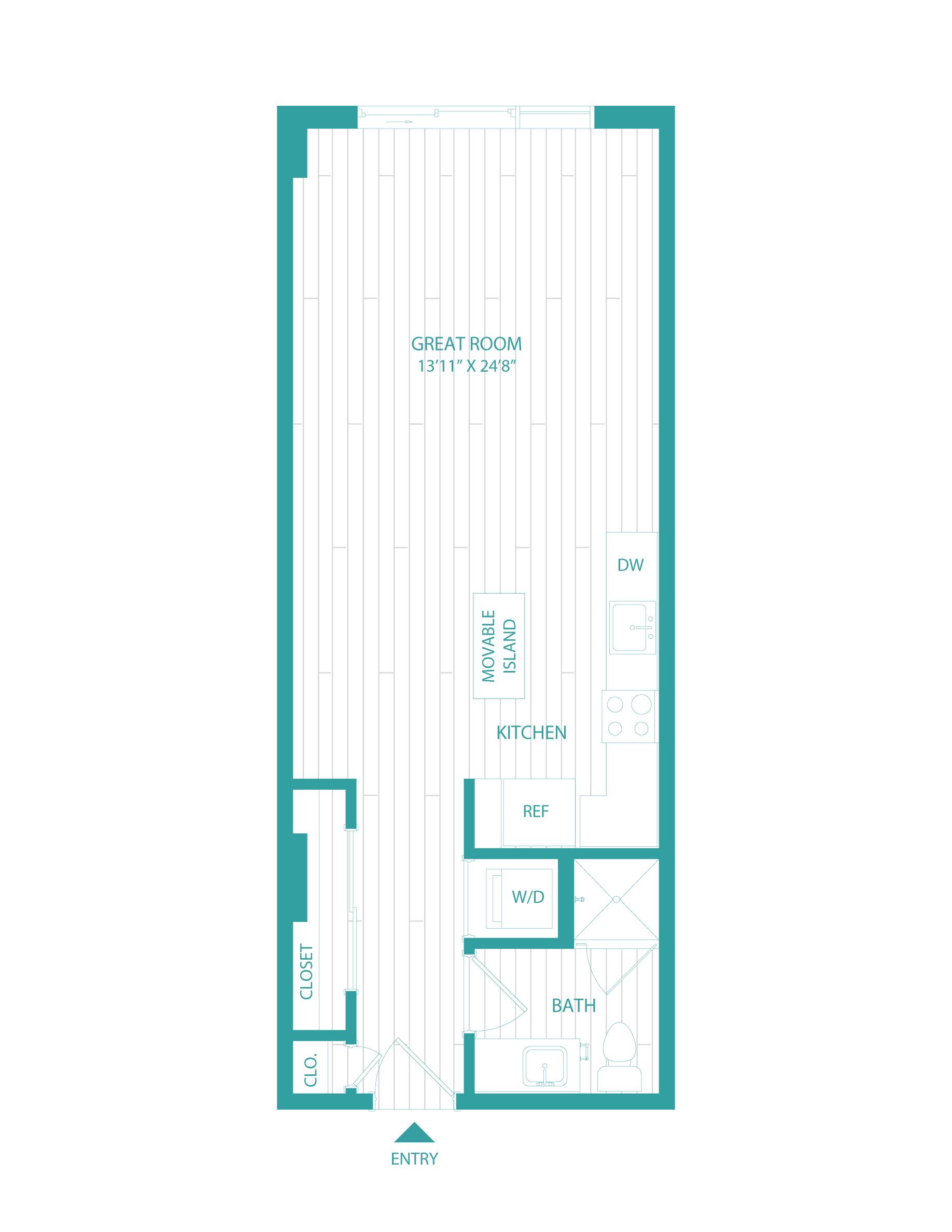 floorplan image of unit 0502