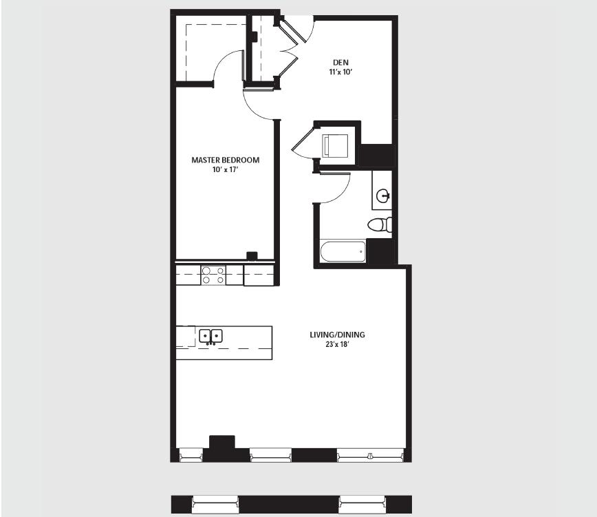 Apartment 0211 floorplan