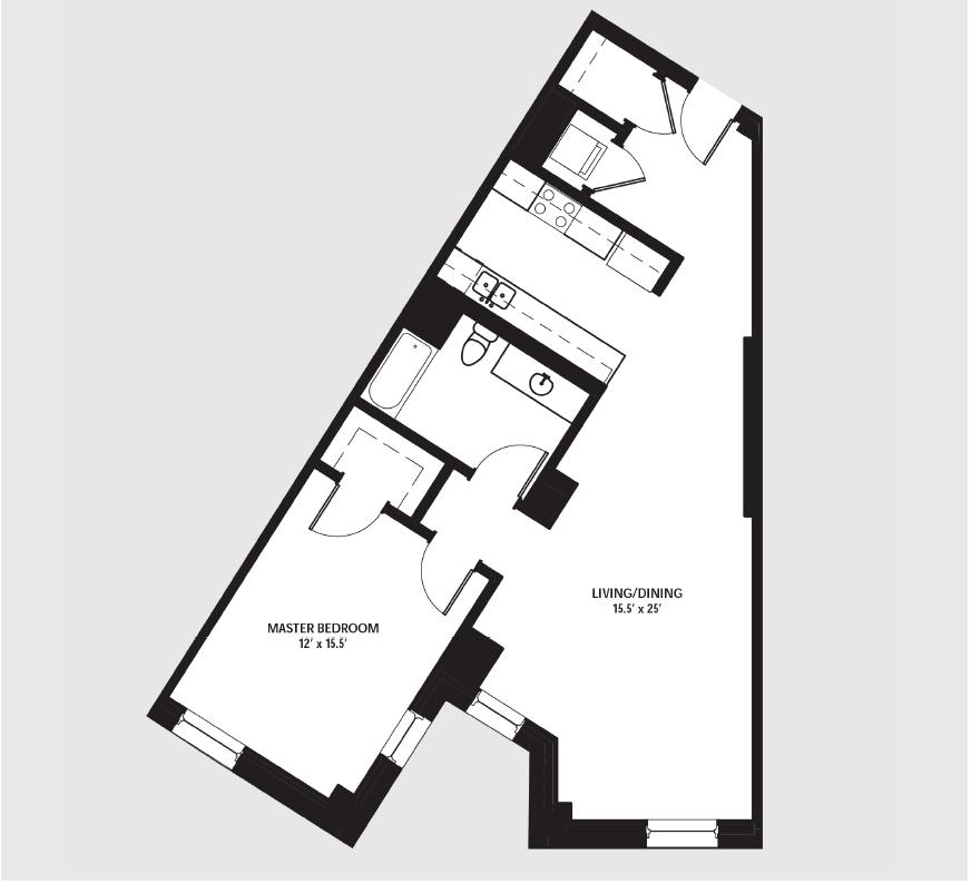 Apartment 0906 floorplan