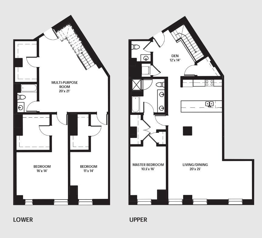 Apartment 0203 floorplan