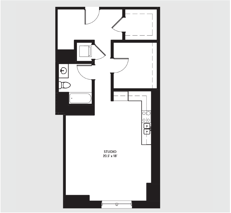Apartment 0712 floorplan