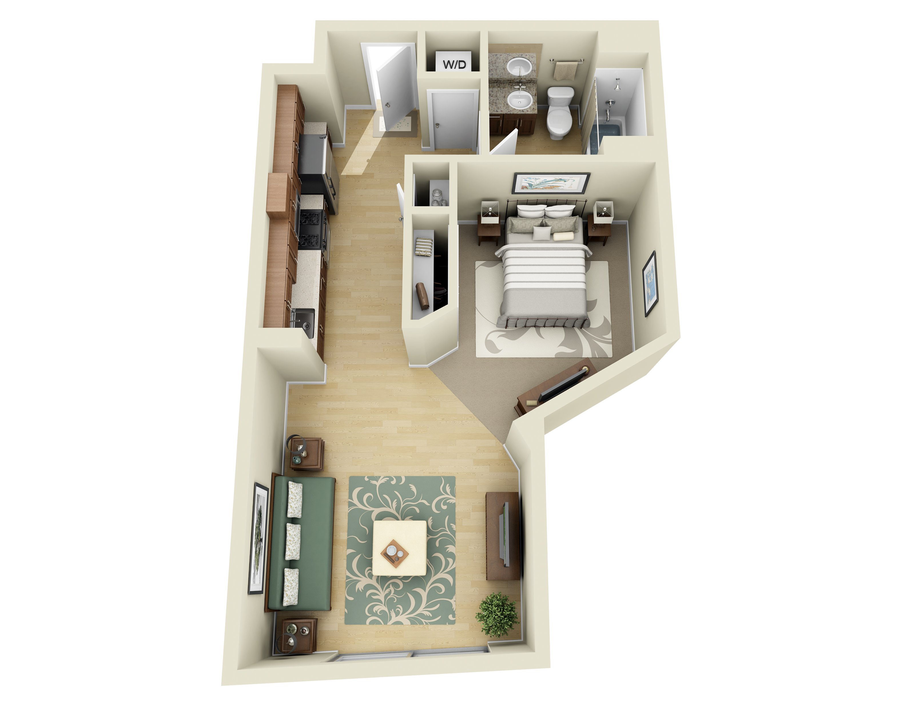 studio 1 2 and 3 bedroom apartments in los angeles