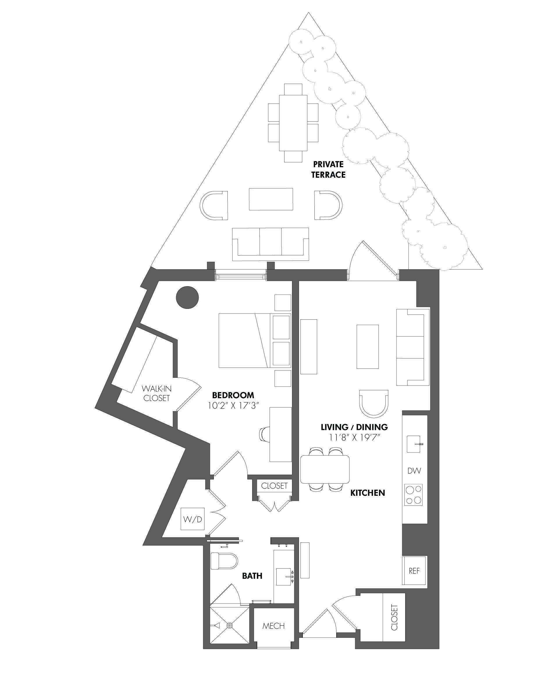 floorplan image of A1