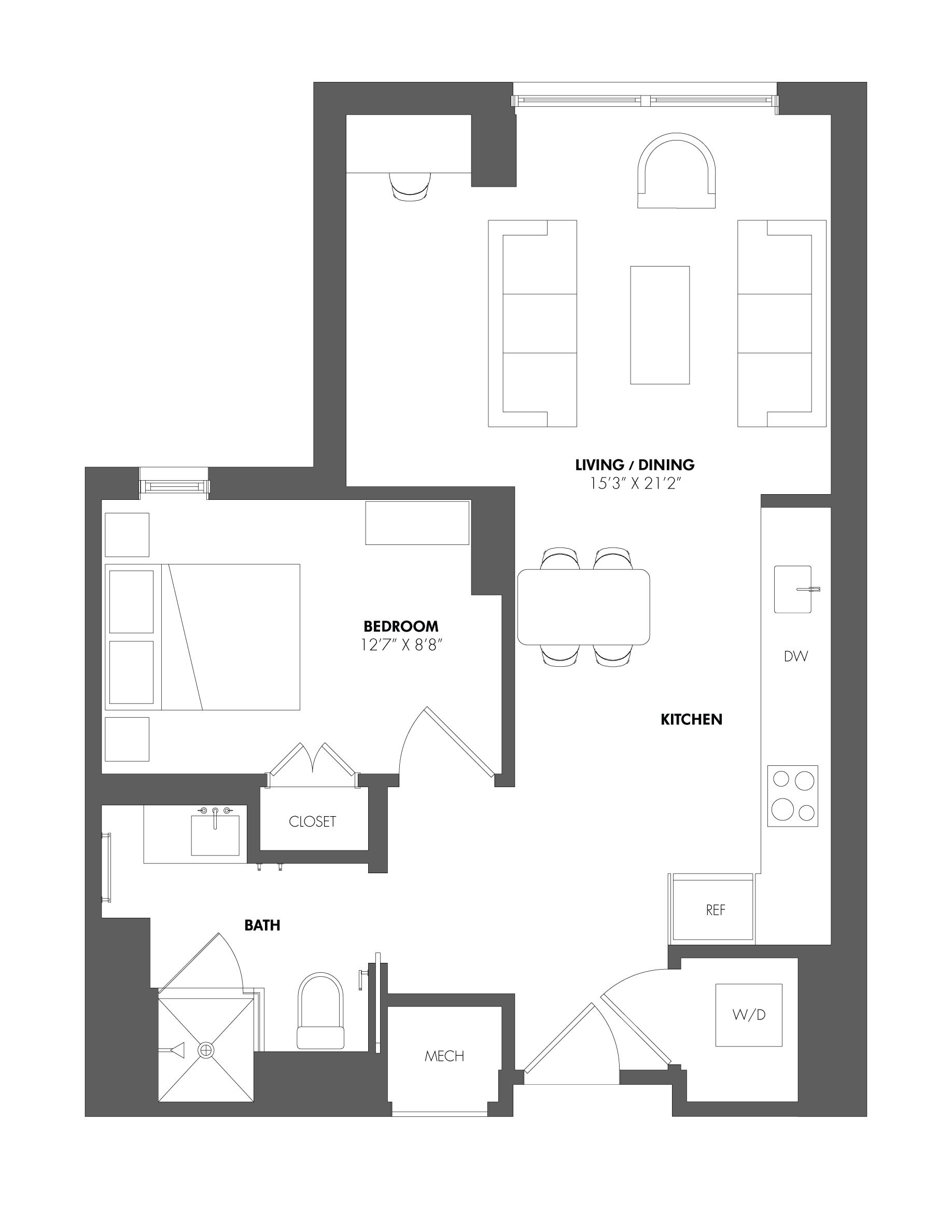 floorplan image of A43