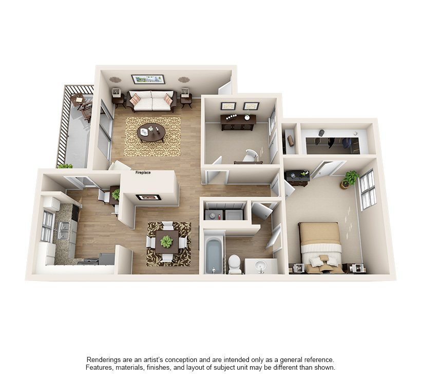 Dawntree Apartment Homes A3 Classic
