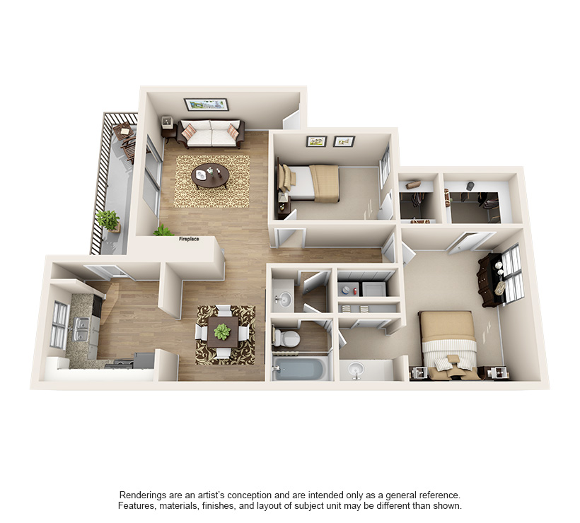 Dawntree Apartment Homes B1 Classic