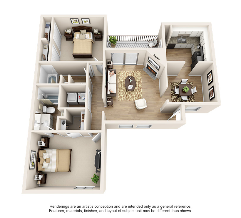 Dawntree Apartment Homes B3 Classic