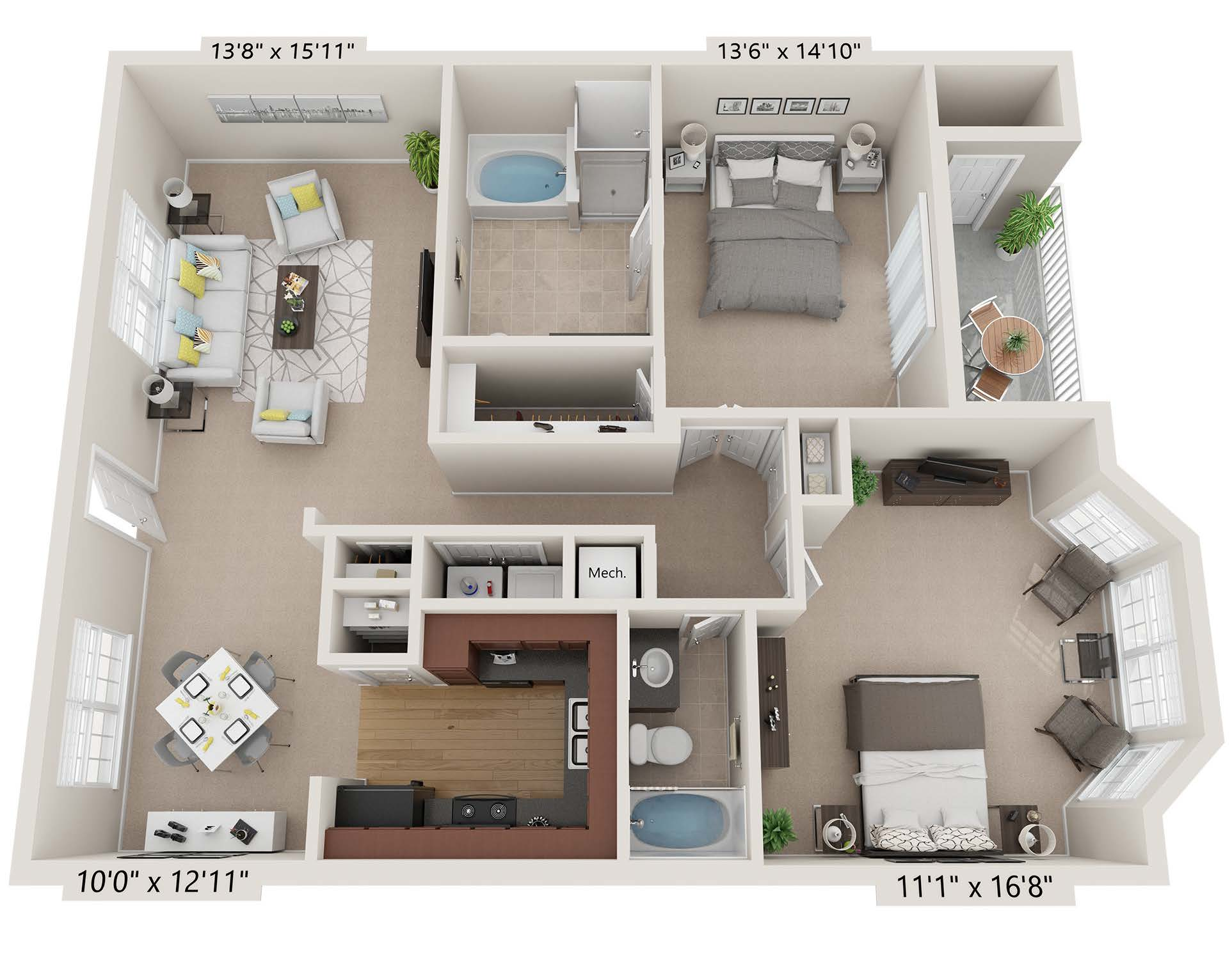 Two Bedroom - cc2b2b.1