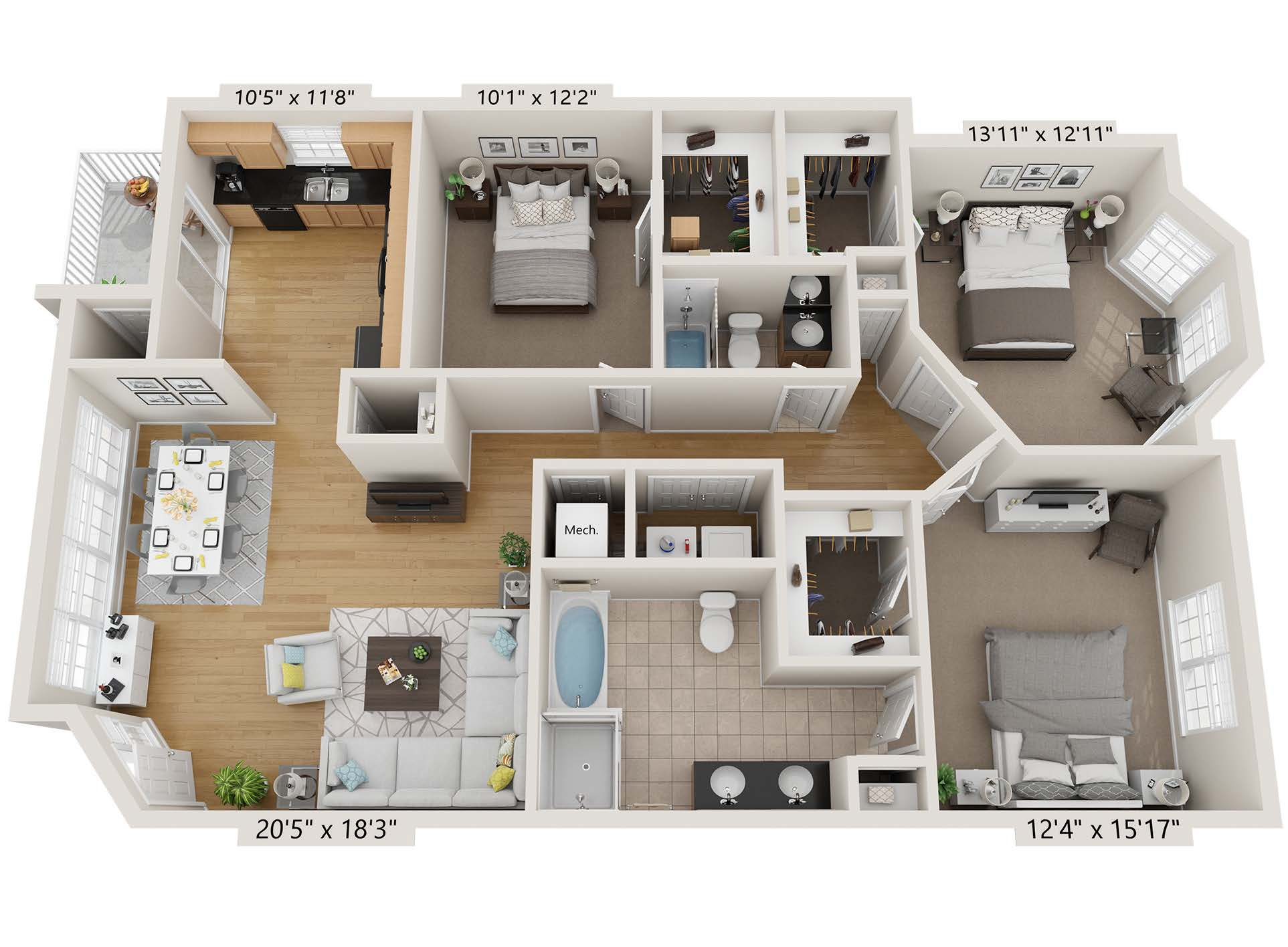 Three Bedroom - cc3b2b.1
