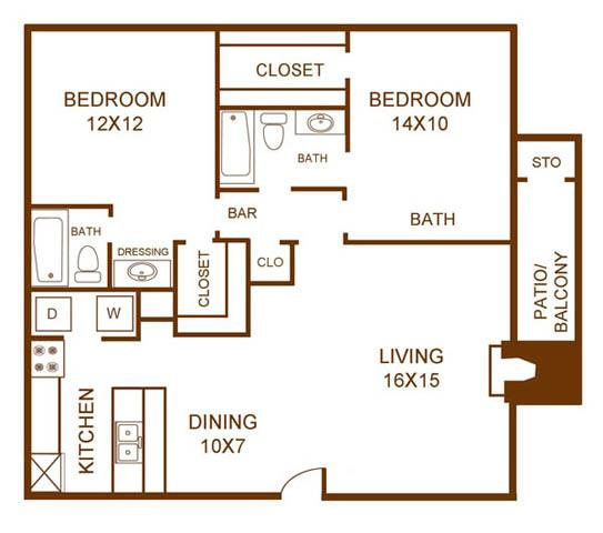 1 Bedroom Apartments Dallas Tx Cielo Ranch Offers