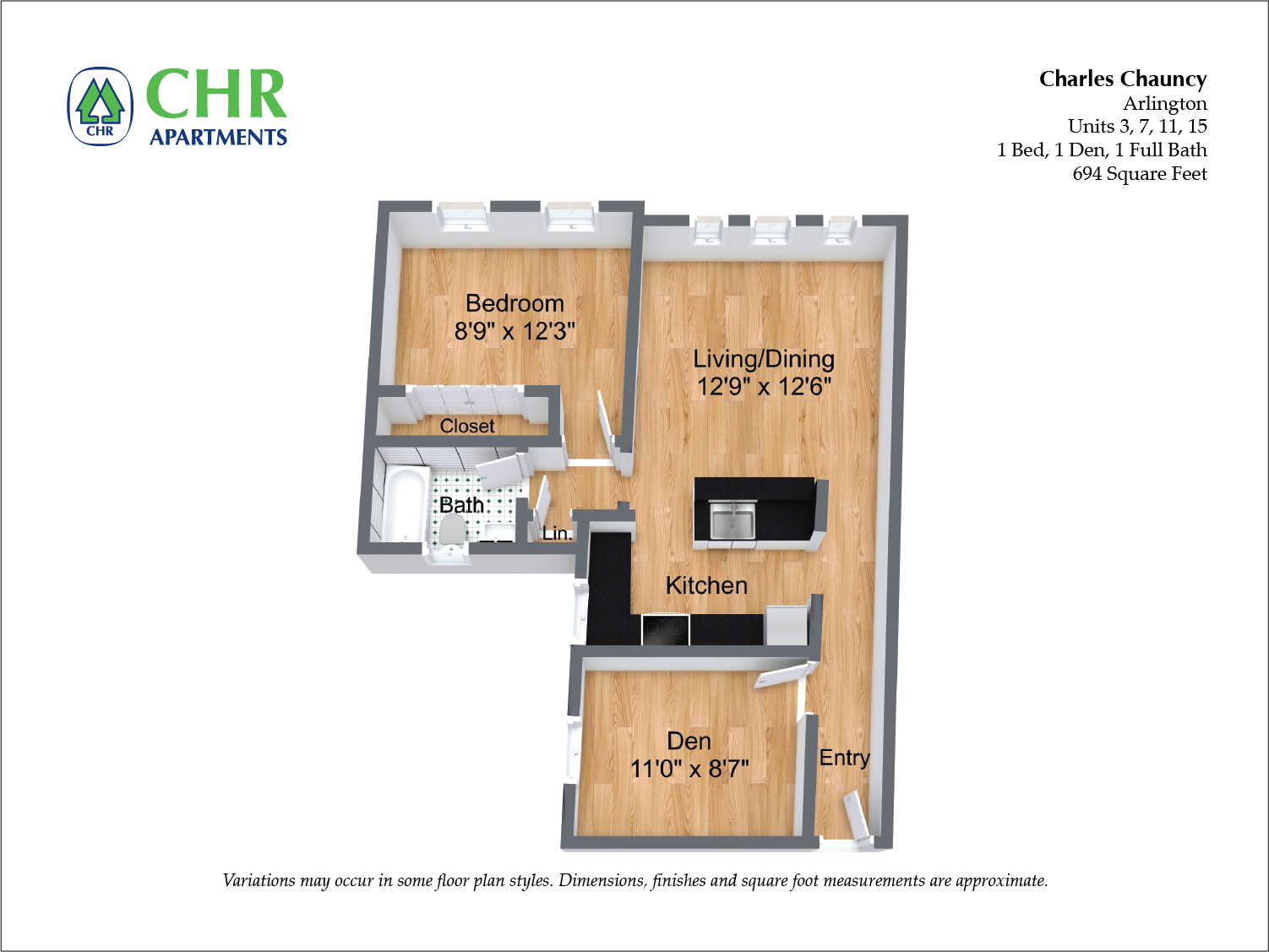Click to view Floor plan 1 BR image 7